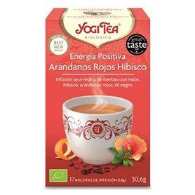 Infusión Energía Positiva Arándanos Hisbico Bio 17 ud. Yogi Tea