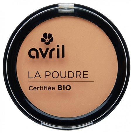Maquillaje Polvo Compacto Dorado Bio 7 gr. Avril