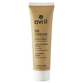 BB Cream con protección SPF10 Medio Bio 30 ml. Avril