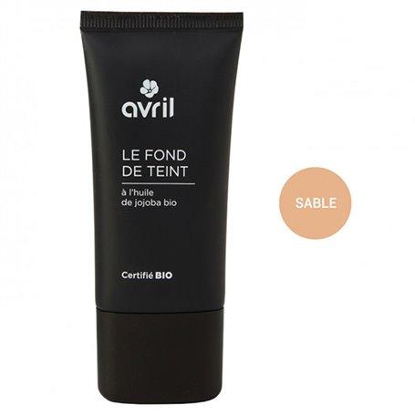 Maquillaje Fluido color Beige Bio 30 ml. Avril