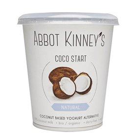 Yogur Coco Natural Bio 400 ml. Abbot Kinney's