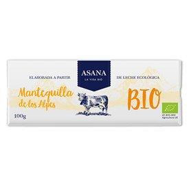 Mantequilla Alpes Ecológica 100 gr. Asana
