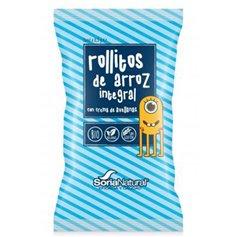 Rollitos Arroz Cacao Ecológico 25 gr. Soria Natural