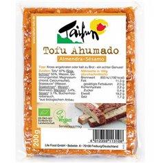 Tofu ahumado con Almendra y Sésamo Bio 200 gr. Taifun