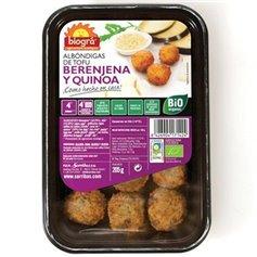 Albóndigas Quinoa Berenjena Ecológico 205 gr. Biográ