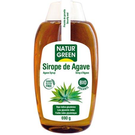 Sirope Ágave Crudo Bio 690 gr. Naturgreen