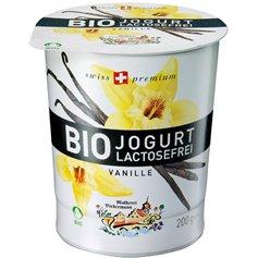 Yogur Vainilla sin lactosa Ecológico 200 gr. Biedermann