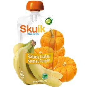 Bebida Plátano Calabaza Bio 110 gr. Skuik