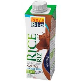 Bebida Arroz Cacao Calcio 250 ml. IsolaBio