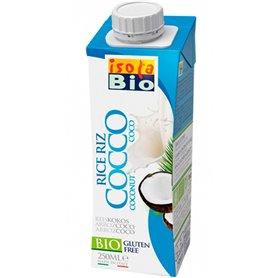 Bebida Arroz Coco Bio 250 ml. IsolaBio