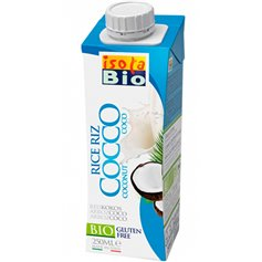 Bebida Arroz Coco Bio 250 ml. IsolaBio
