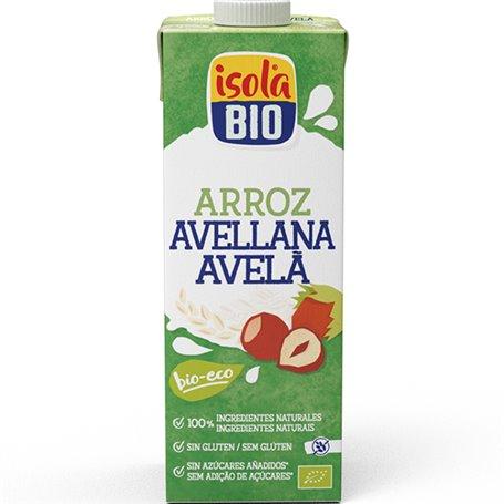 Bebida Arroz y Avellanas Bio 1 l. IsolaBio