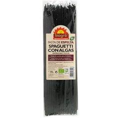 Espaguetis Espelta Algas Bio 250 gr. Biográ