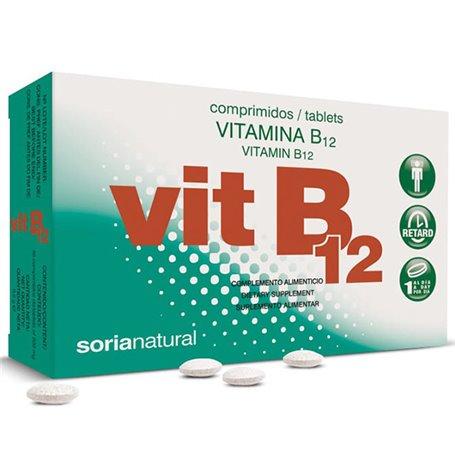 Vitamina B12 20 mg. Retard 200 ud. Soria Natural