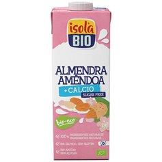 Bebida Almendra Calcio s/azúcar Bio 1 l. IsolaBio