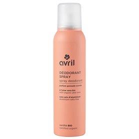 Desodorante Spray Bio 150 ml. Avril
