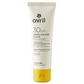 Crema solar facial SPF30 Bio 50 ml. Avril