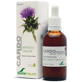 Extracto natural Cardo Mariano 50 ml. Soria Natural