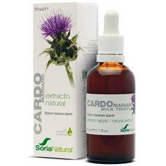 Extracto natural Cardo Mariano 50 ml. Soria Natural