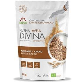 Avena Divina Avellana Cacao Bio 360 gr. Iswari