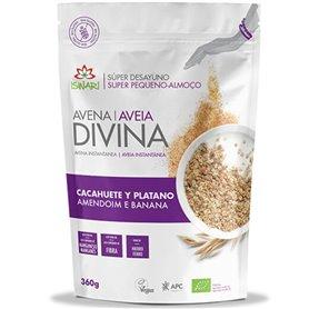 Avena Divina Cacahuete Plátano Bio 360 gr. Iswari