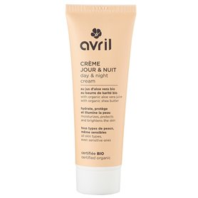 Crema facial Día Noche Bio 50 ml. Avril