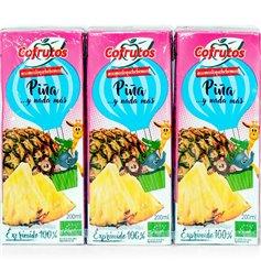 Zumo Piña 100% Bio 3x200 ml.