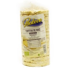 Tortitas Maíz sin Sal Ecológicas 110 gr. Pasteco