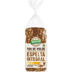 Pan Molde Espelta Integral Avena Bio 400 gr. Biocop