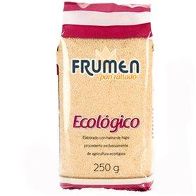 Pan Rallado ecológico 250 gr. Frumen