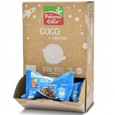 Bolas energéticas Cacao Coco Bio 25 gr. Finestra Sul Cielo