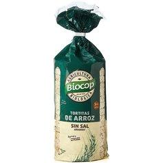 Tortitas Arroz sin sal Bio 200 gr. Biocop