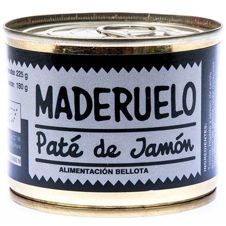 Paté Jamón Bellota Bio 225 gr. Maderuelo