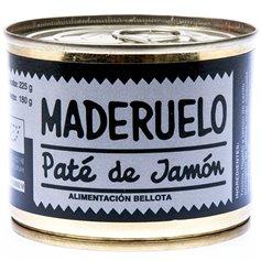 Paté Jamón Ecológico 225 gr. Maderuelo