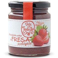 Mermelada fresa sin Azúcar ecológica 260 gr. Valle del Taibilla