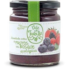 Mermelada Frutos Bosque sin Azúcar ecológica 260 gr. Valle del Taibilla