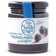 Mermelada Arándano sin Azúcar ecológica 260 gr. Valle del Taibilla