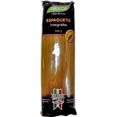 Espagueti Trigo Integral Ecológico 500 gr. Castagno