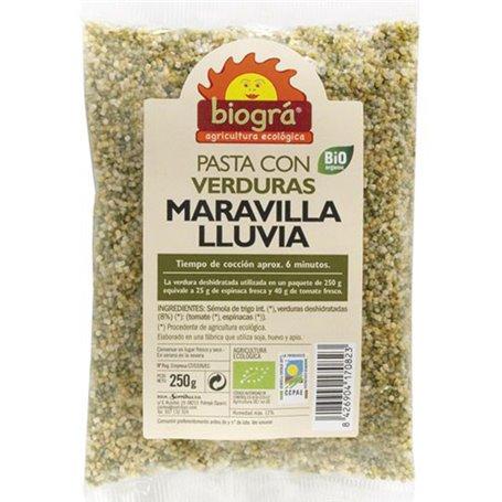 Pasta Verduras Maravilla Ecológica 250 gr. Biográ