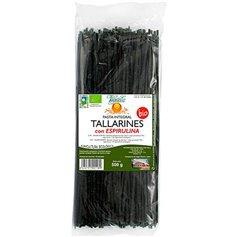 Tallarines Espirulina Ecológicos 500 gr. Vegetalia