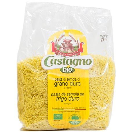 Fideo Trigo Blanco Bio 500 gr. Castagno