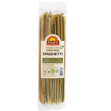 Espagueti Verduras Bio 250 gr. Biográ