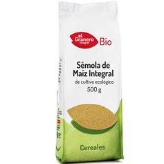 Sémola Maíz Bio 500 gr. El Granero