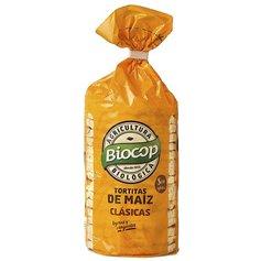 Tortitas Maíz sin gluten clásicas bio 120 gr. Biocop