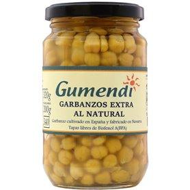 Garbanzos cocidos Bio 340 gr. Gumendi