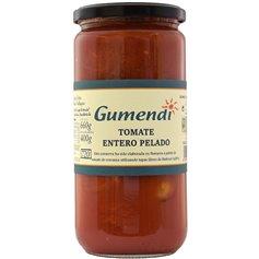 Tomate entero pelado Bio 660 gr. Gumendi