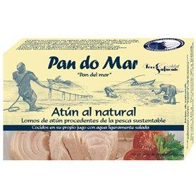 Filetes Atún al Natural 120 gr. Pan do mar