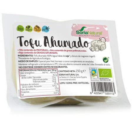 Tofu Ahumado Bio 250 gr. Soria Natural