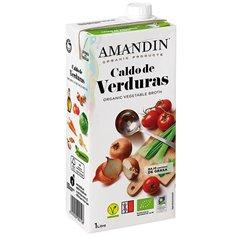 Caldo Verduras Bio 1 l. Amandin