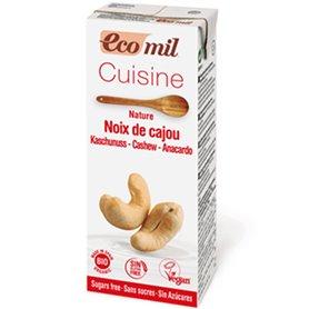 Crema Cuisine Anacardo Bio 200 ml. Ecomil